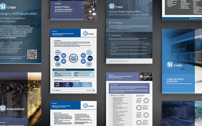 Brand design for York Business copy