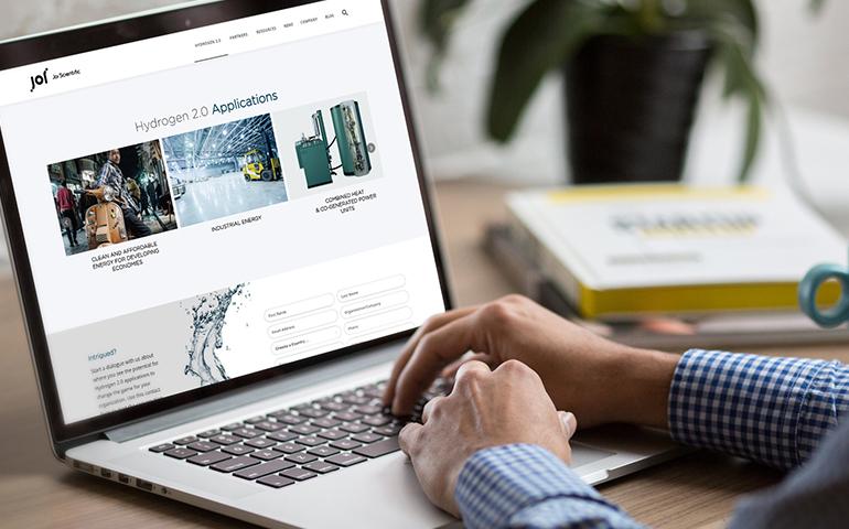 Choosing an web copy