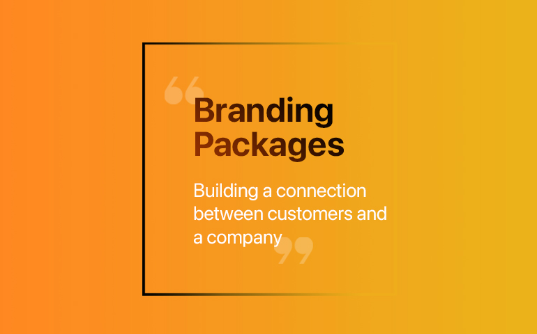 Brand packages copy