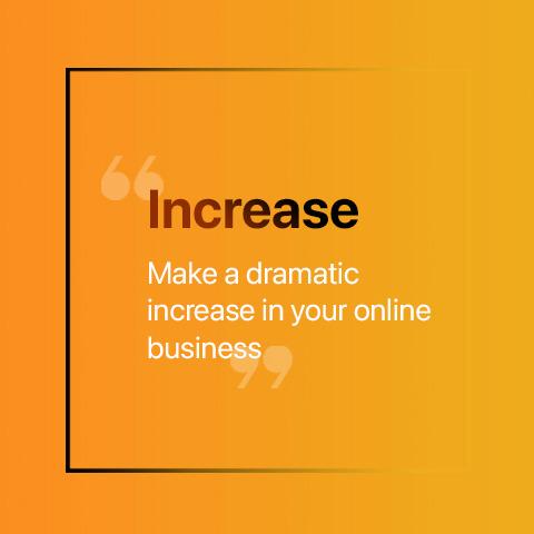 Increase web copy
